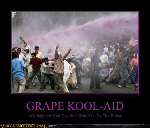 kool aid oh yeah. Grape Kool-Aid