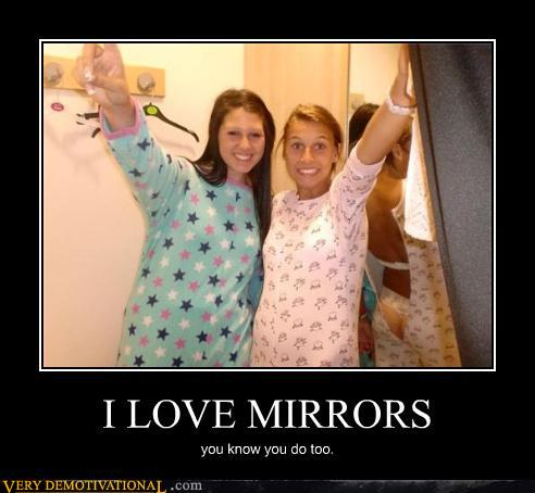 Funny photo of the day for tuesday 03 august 2010 from for Mirror jokes