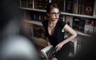 Sexy librarian pictures