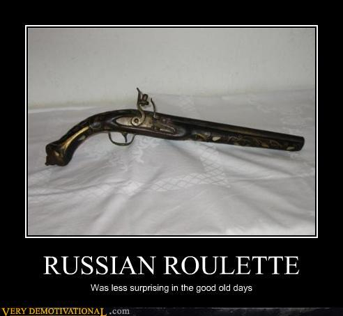 Russian roulette jokes wow starter edition
