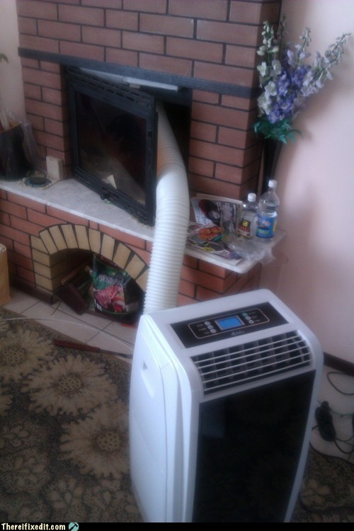 Fire Up The Fireplace Air Conditioning