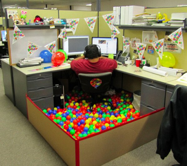 fun office wall decor photo. Funny Photo Of The Day - Happy Birthday To Me Fun Office Wall Decor