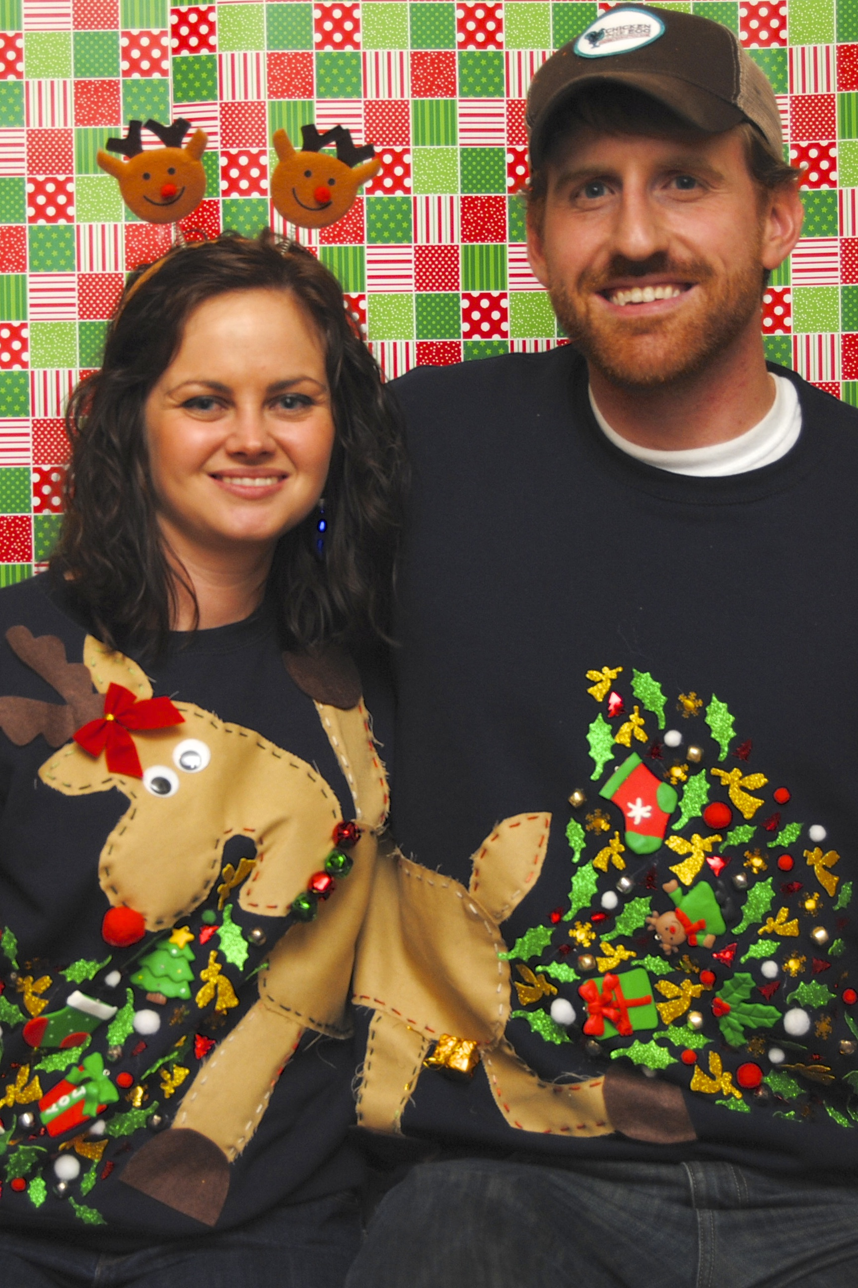Couples Christmas Sweaters.Funny Photo Of The Day For Wednesday 24 December 2014 From