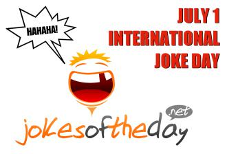 International Joke Day - July  01  IMAGES, GIF, ANIMATED GIF, WALLPAPER, STICKER FOR WHATSAPP & FACEBOOK