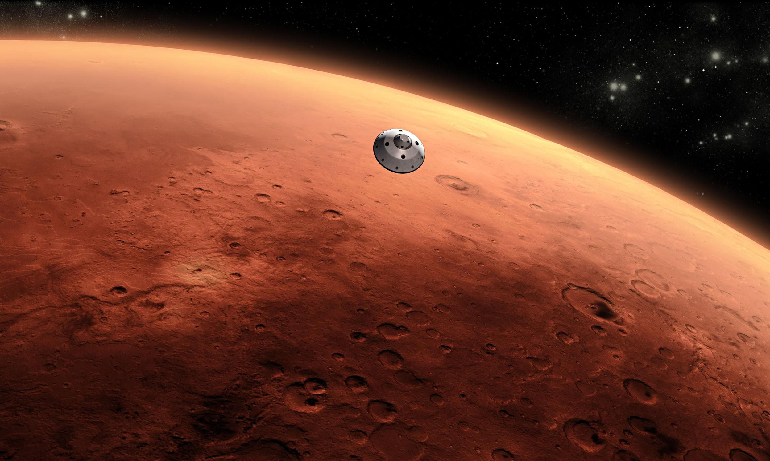 NASA launches mission to Mars