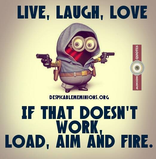 Joke For Tuesday, 28 July 2015 From Site Minion Quotes   Live, Laugh, Love