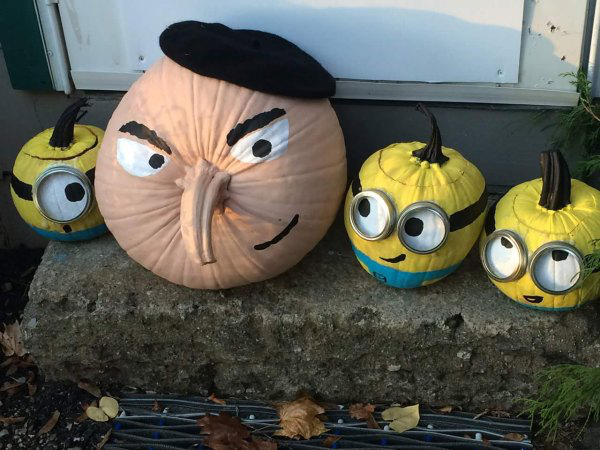 Funny photo of the day for monday 26 october 2015 from - Idee deco citrouille halloween ...