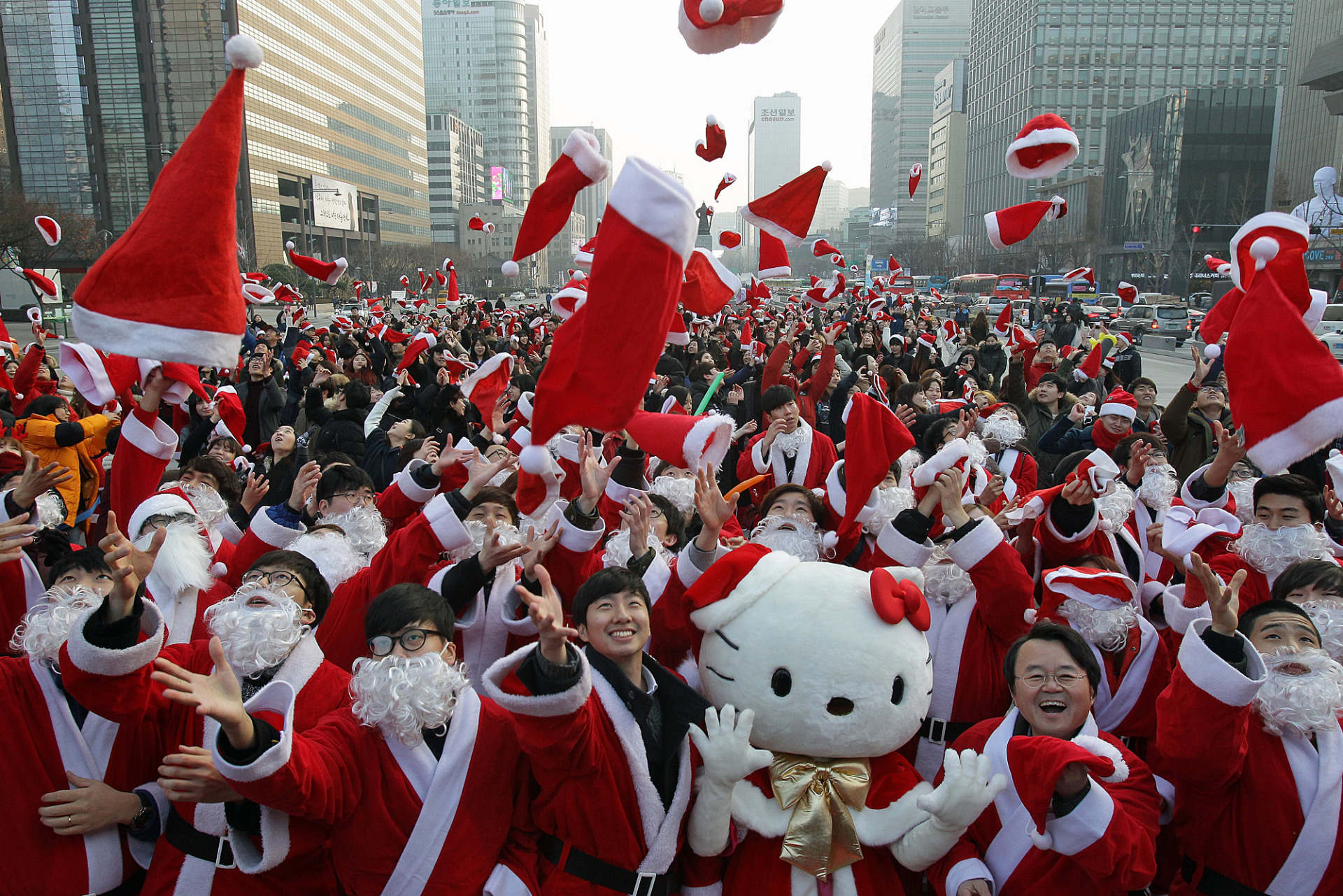 Christmas In Korea.Funny Photo Of The Day For Monday 28 December 2015 From