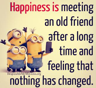 minion happiness quote