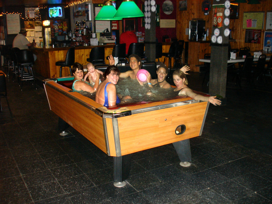 Funny Photo Of The Day   Swimming Pool Table