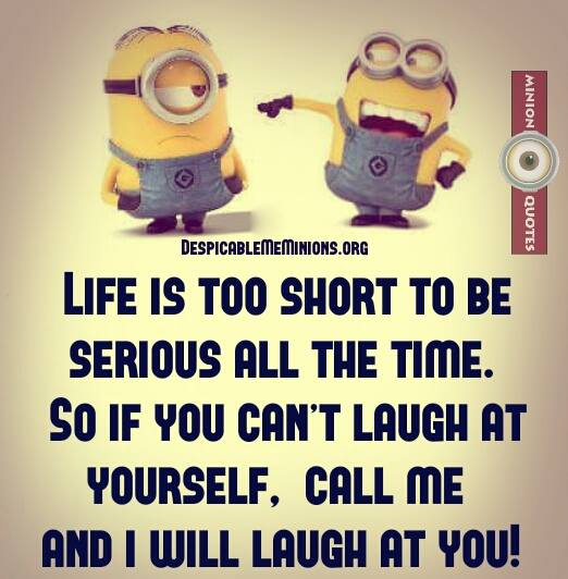Very Short Funny Quotes About Life Urdu: Joke For Wednesday, 02 March 2016 From Site Minion Quotes