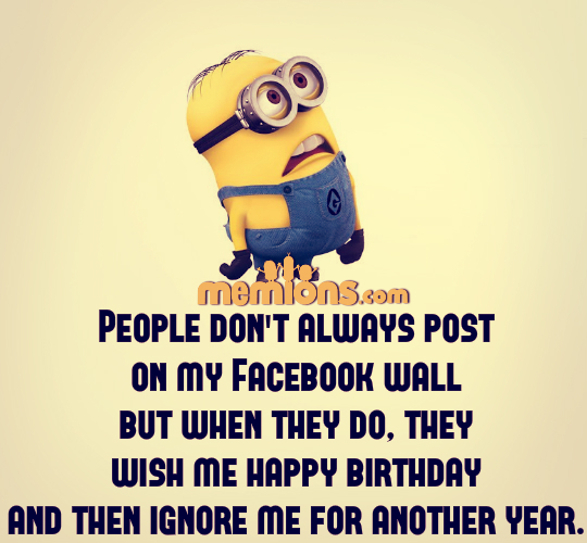 Joke For Sunday, 01 May 2016 From Site Minion Quotes