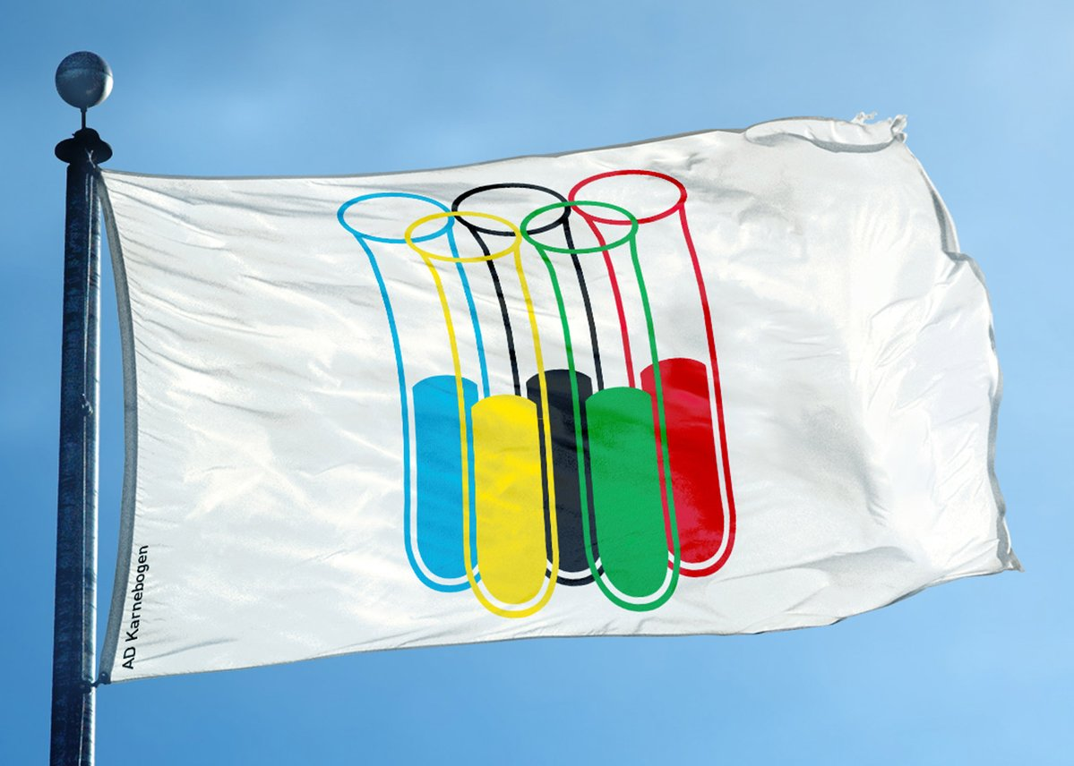 New Olympic flag