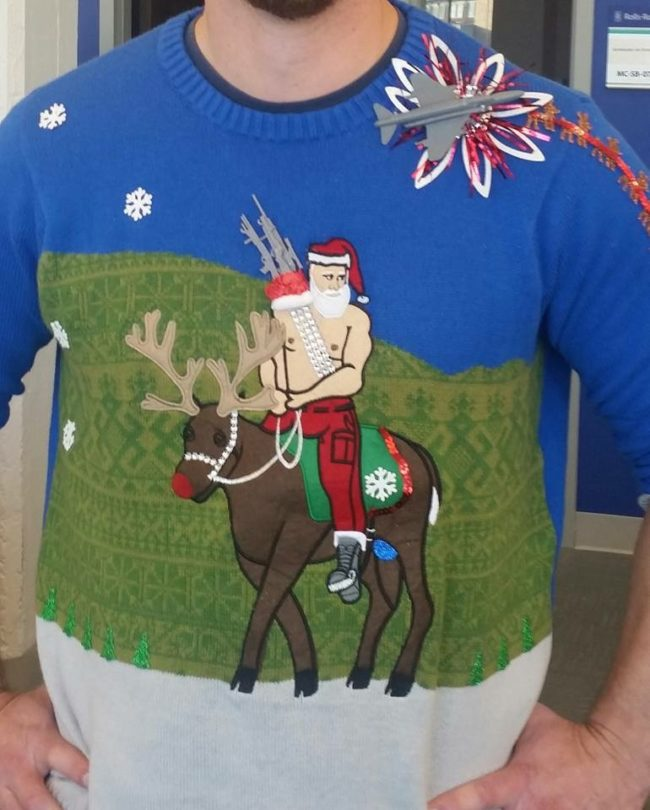Green Day Christmas Sweater.Funny Photo Of The Day For Tuesday 13 December 2016 From